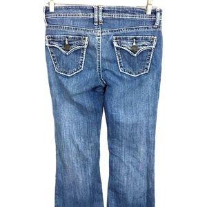 A.N.A. Jeans Flare Stretch Back Flap Pocket